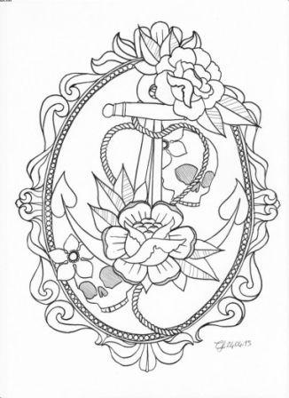 2 as well Roses Anchor Skull Outline Tattoo Designs likewise Corner Scroll Design together with Butterfly Is Insect Of Order together with Page6. on motorcycle frame art