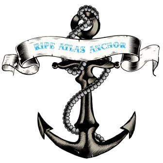 Anchor Tattoo With Banner (2)