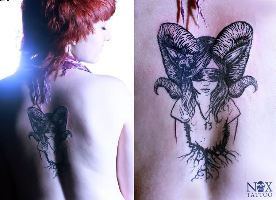 Aries tattoo ideas and aries tattoo designs page 35 for Flowers for aries woman