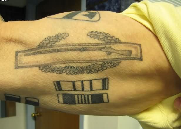 Tattoos designs with inspiration and ideas for Army infantry tattoos