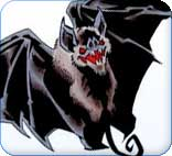 Fabulous Vampire Bat Tattoo Design
