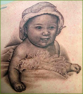 Gud Baby Tattoo Design