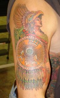 Aztec Tattoos Designs With Inspiring 334 Images