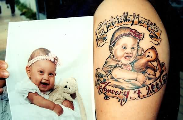 Memorable Baby Tattoo