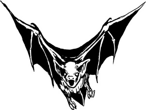Tremendous Tattoo Design Of Flying Bat