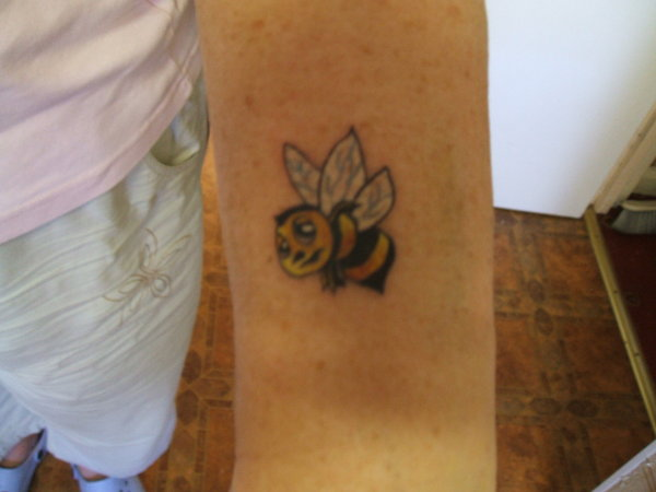 What A Bee Tattoo!