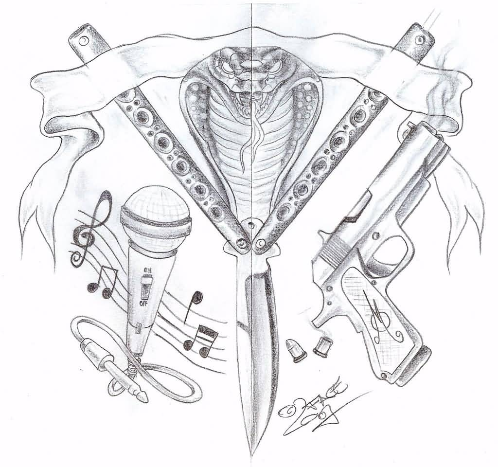 Gangster Tattoo – Gangsta Designs