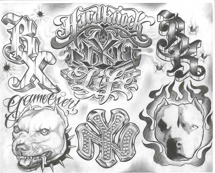Gangster Tattoo Ideas And Designs