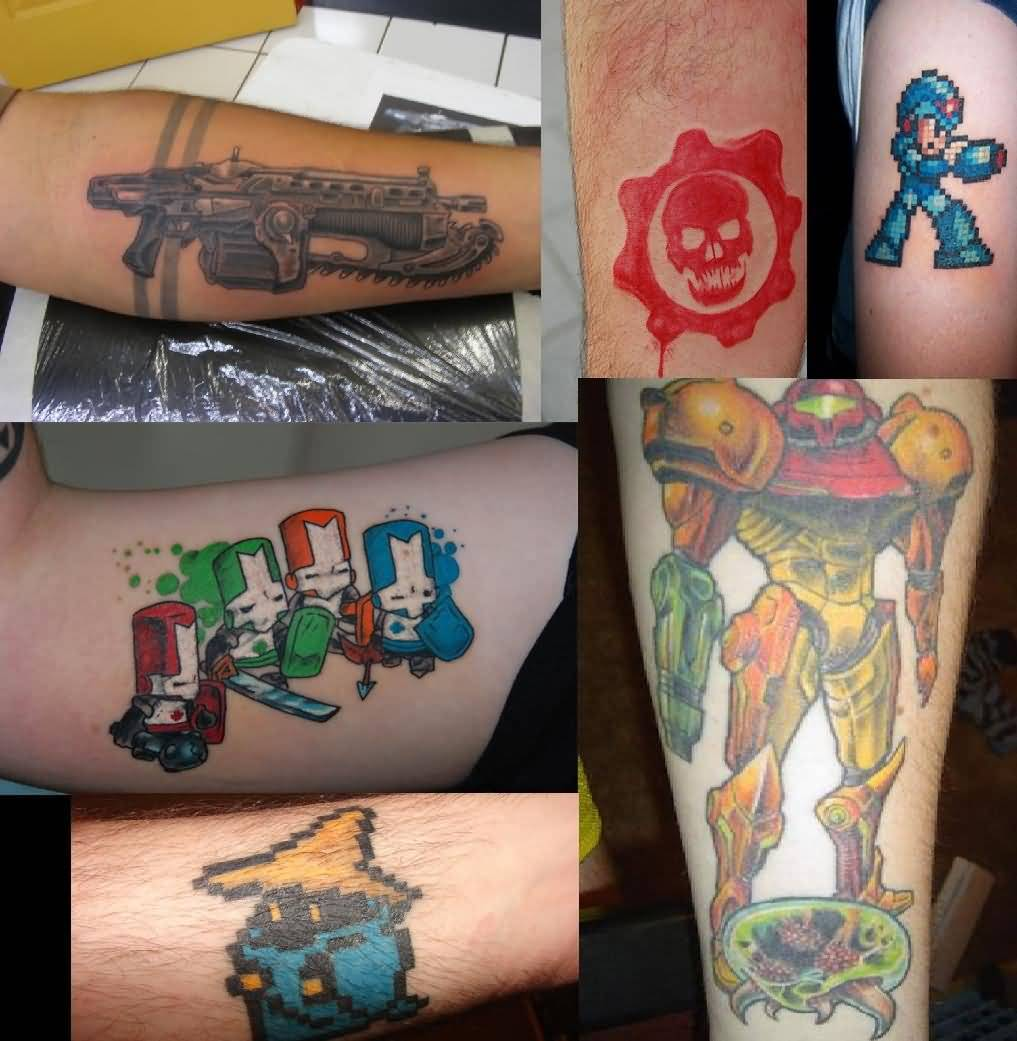 Geek Tattoo Ideas And Geek Tattoo Designs
