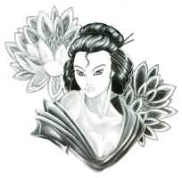 Geisha Tattoo -Fantastic  Geisha Design
