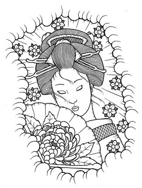 HD wallpapers angel face coloring page