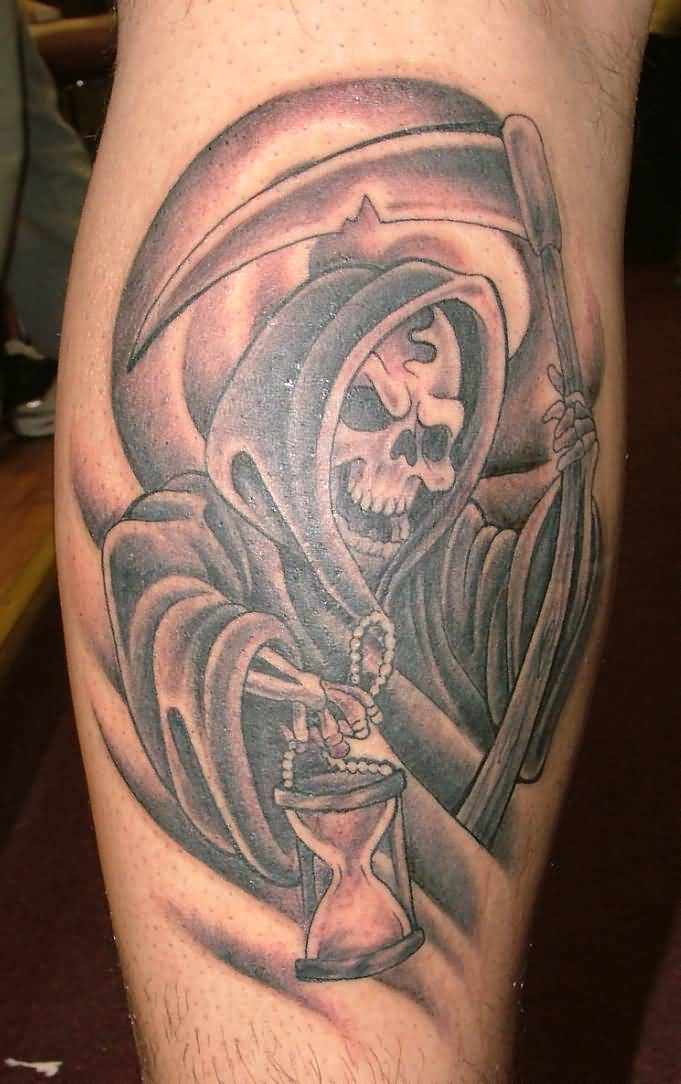 grim reaper tattoos mind blowing forearm