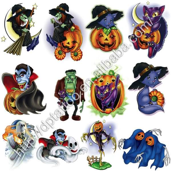 Halloween Tattoo Ideas and Halloween Tattoo Designs | Page 23