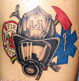 helmet tattoo firefighter helmet and axe design tattooshunter com rh tattooshunter com Firefighter Tattoo Designs Ideas firefighter helmet tattoo ideas