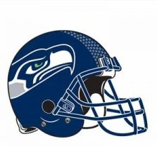 Helmet Tattoo - New Release Seahawks Design