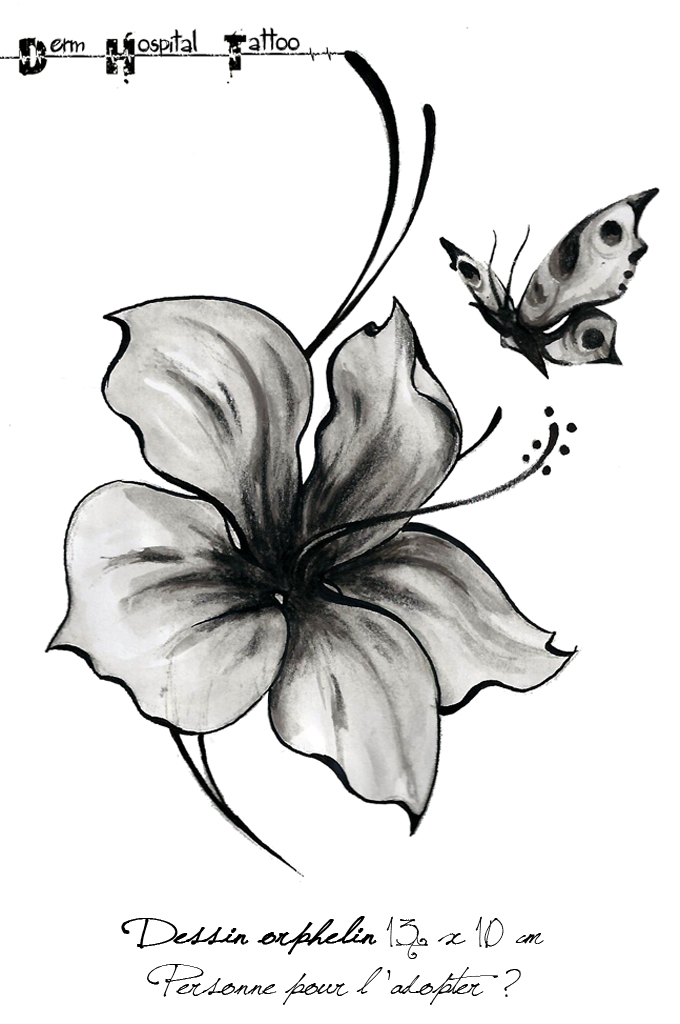 hibiscus tattoo art and designs | page 38