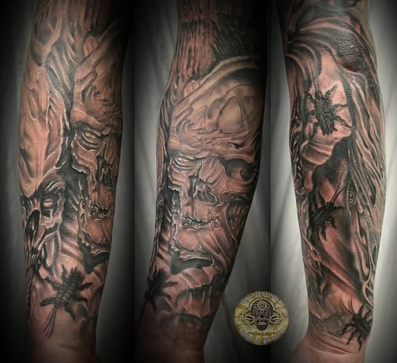 horror tattoo ideas and horror tattoo designs page 63. Black Bedroom Furniture Sets. Home Design Ideas