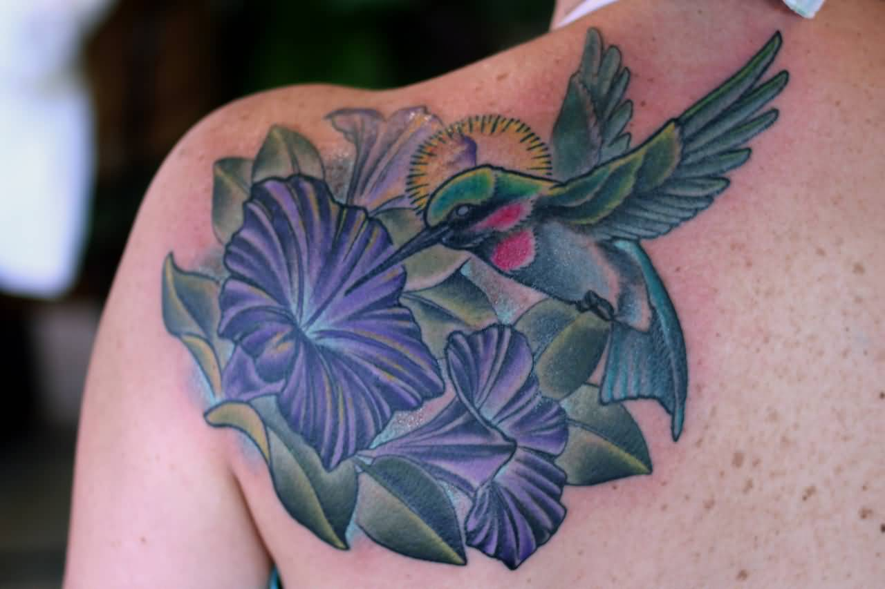 Pictures Of Hummingbirds And Flowers Tattoos Images For Tatouage