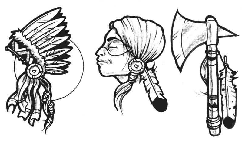 Indian tattoo ideas and indian tattoo designs page 41 for American indian tattoo designs