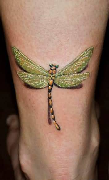 Insect Tattoo - Perfect Dragonfly Insect Design