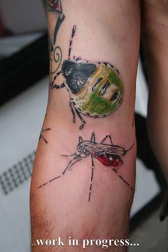 Insect Tattoo - Wonderful Insects Design