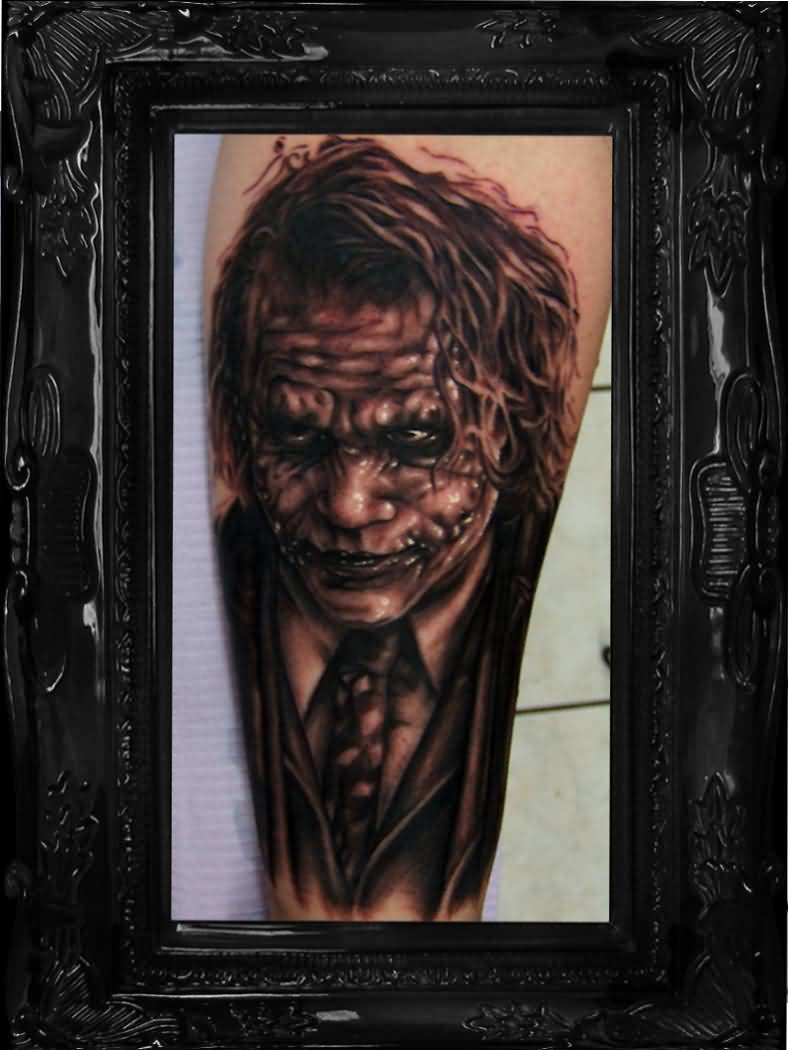 Joker tattoo ideas and joker tattoo designs page 7 for Home by johker design