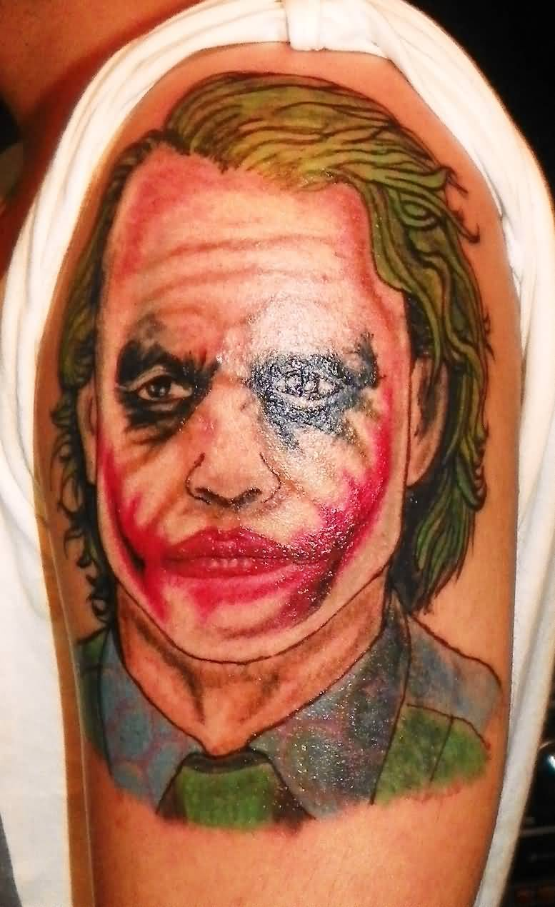 Joker Tattoo Ideas and Joker Tattoo Designs | Page 8