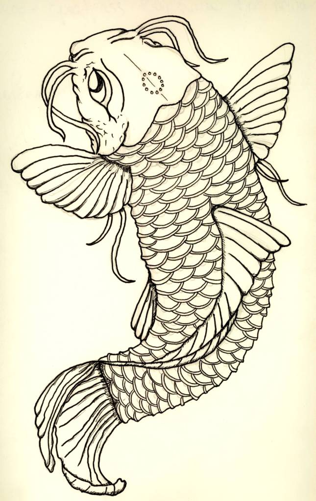 Tattoos hunter tattoo art and designs gallery page 5259 for Amazing koi fish