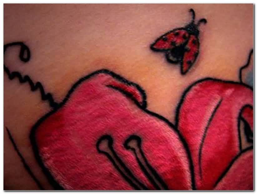 Best Butterfly Ladybug Tattoo Awesome