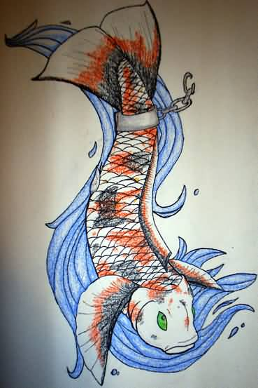 Koi tattoo ideas and koi tattoo designs page 40 for Butterfly koi tattoo