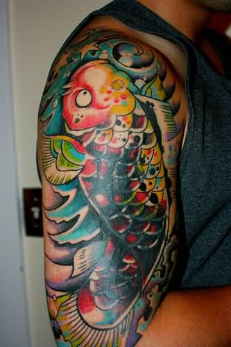 Koi tattoo ideas and koi tattoo designs page 93 for Butterfly koi tattoo