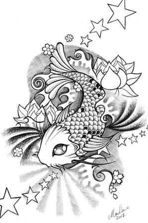Koi tattoo ideas and koi tattoo designs page 86 for Small koi fish