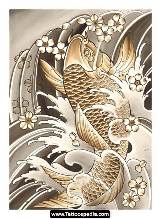 Koi tattoo ideas and koi tattoo designs page 46 for Amazing koi fish