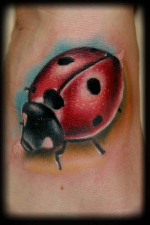 Ladybug Images For Tattoo On Forearm