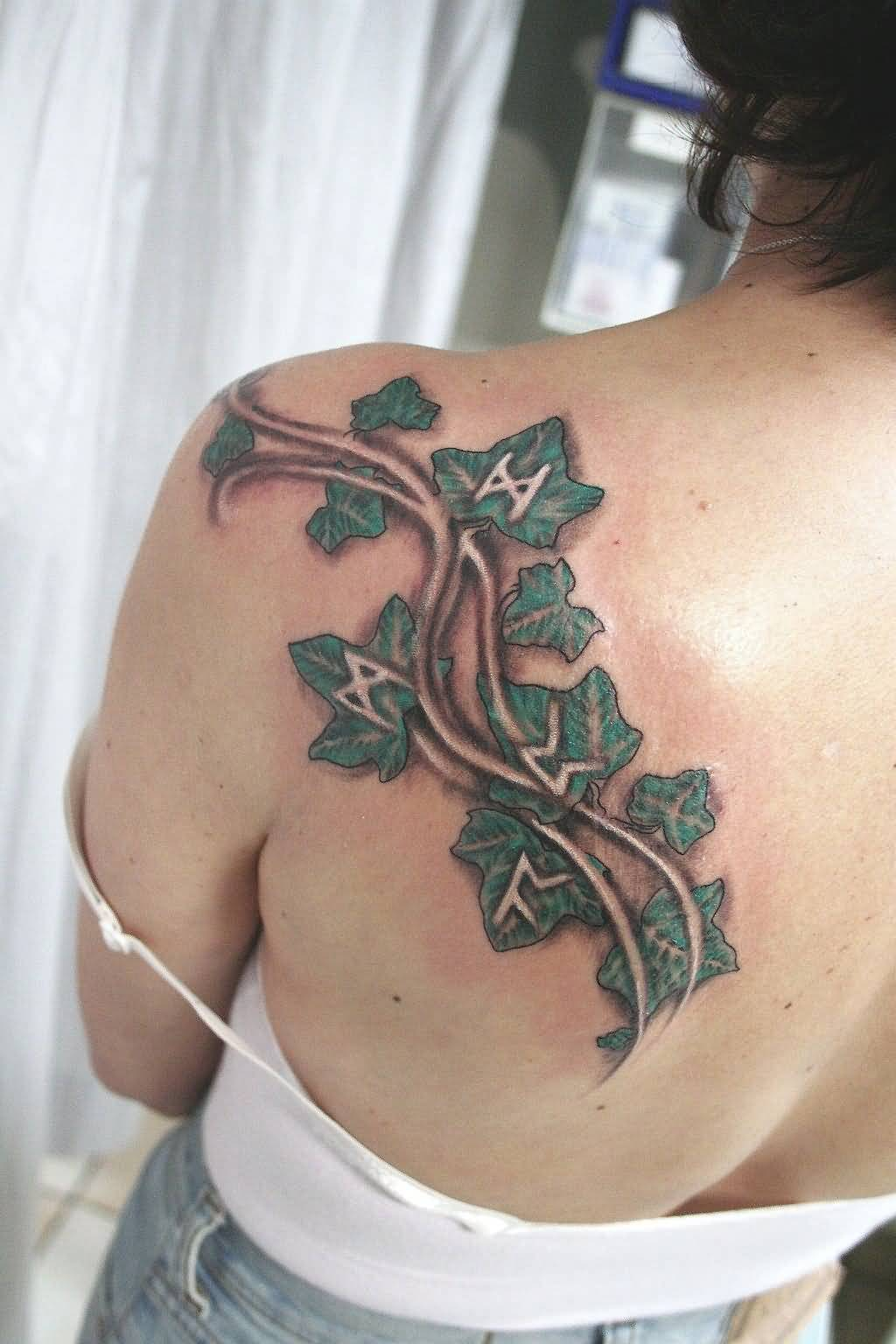 d2d6ee947 On Back Carved New Ivy Tattoo