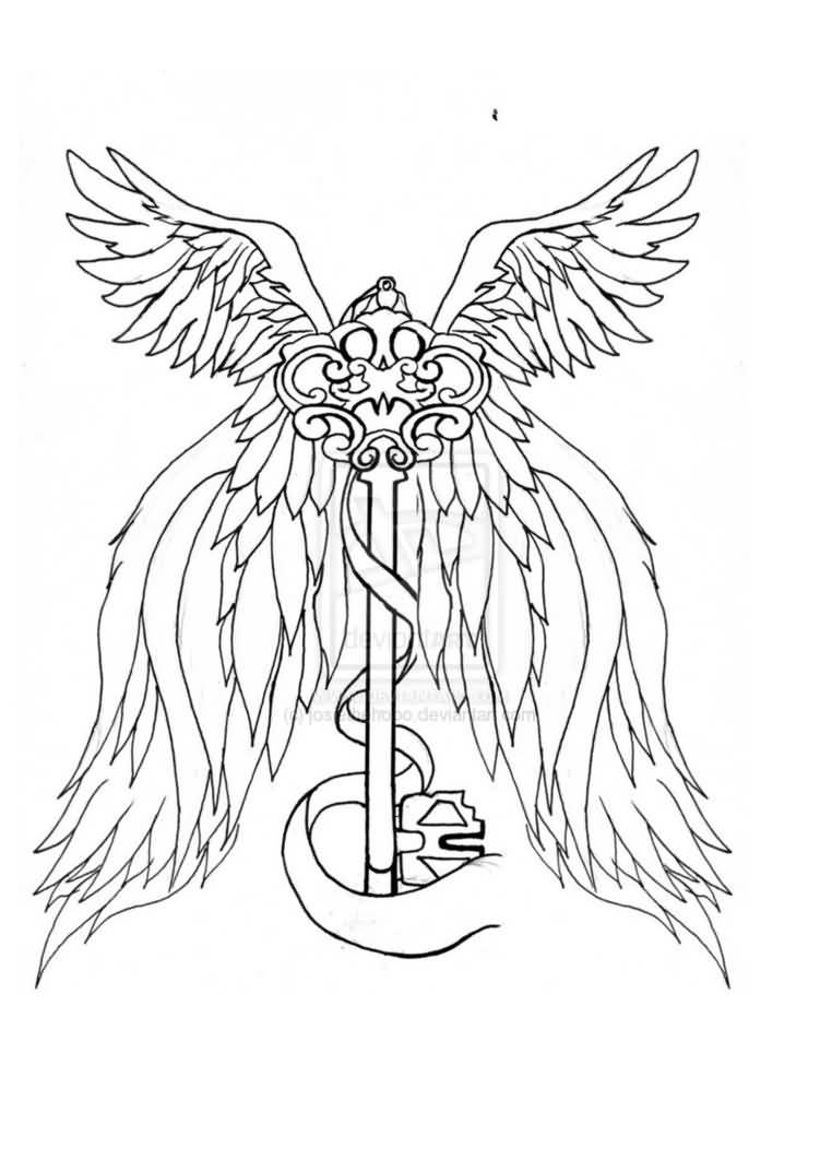 Tattoo Drawing Outline : Key tattoo ideas and designs page