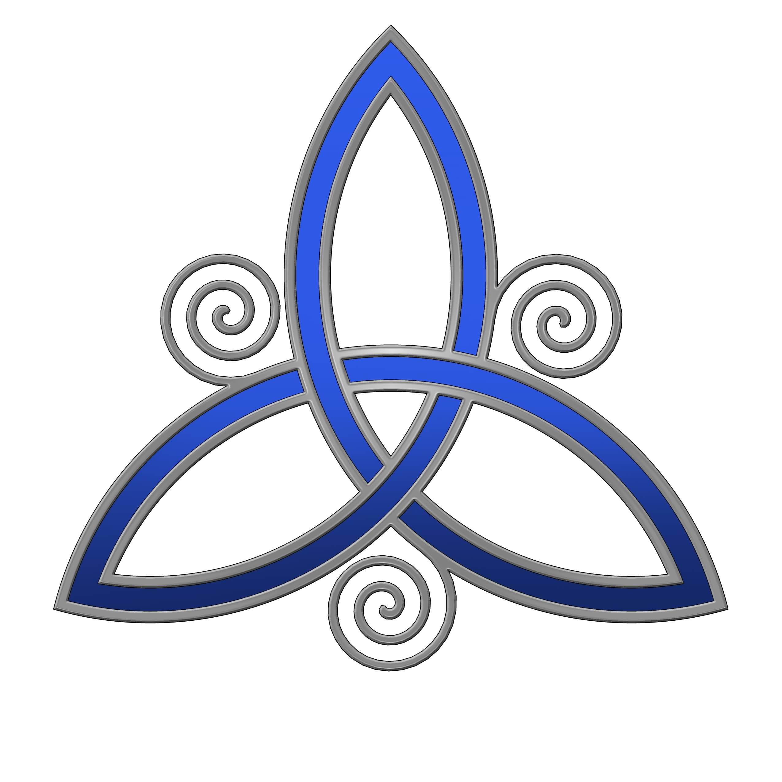 Trinity Irish Knot Tattoo Design