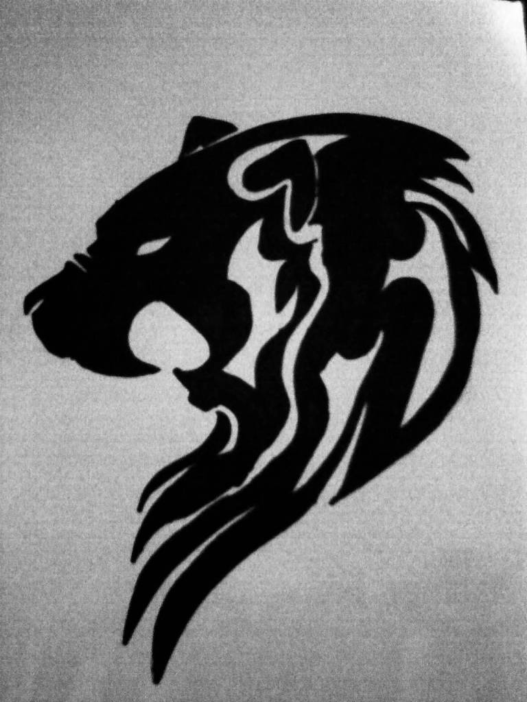 lion tattoo ideas and lion tattoo designs page 6. Black Bedroom Furniture Sets. Home Design Ideas