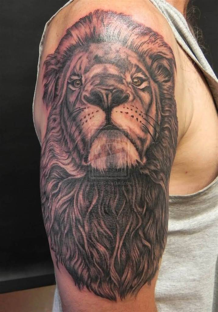 Two headed lion tattoo - photo#5
