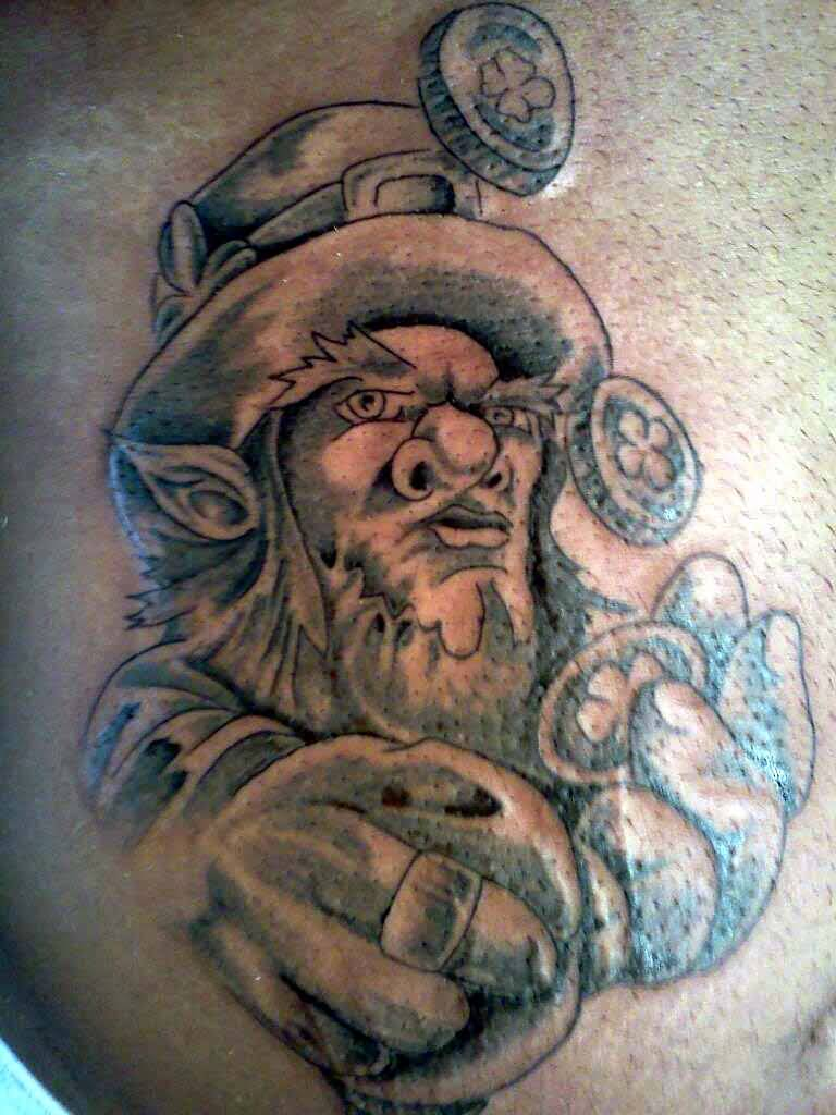 Leprechaun Tattoos Images Pictures Page 2 Tattoos Hunter