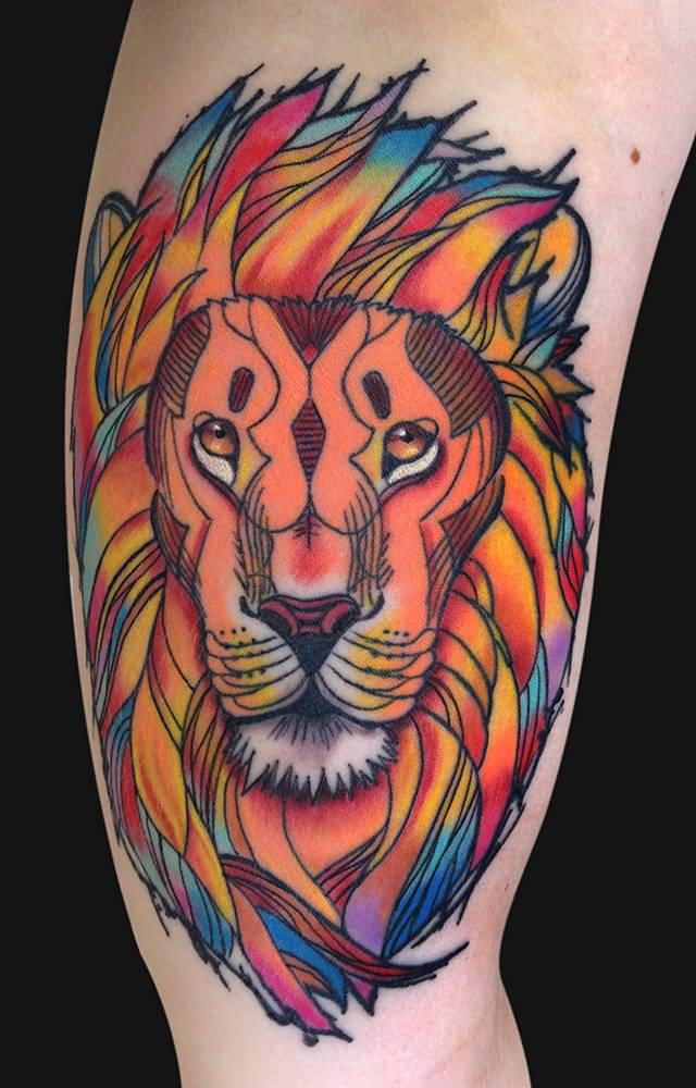 Preferenza Lion Tattoo Ideas and Lion Tattoo Designs | Page 16 TX89