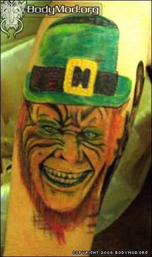 Irish Folklore Banshee Best Leprechaun Tattoo Design