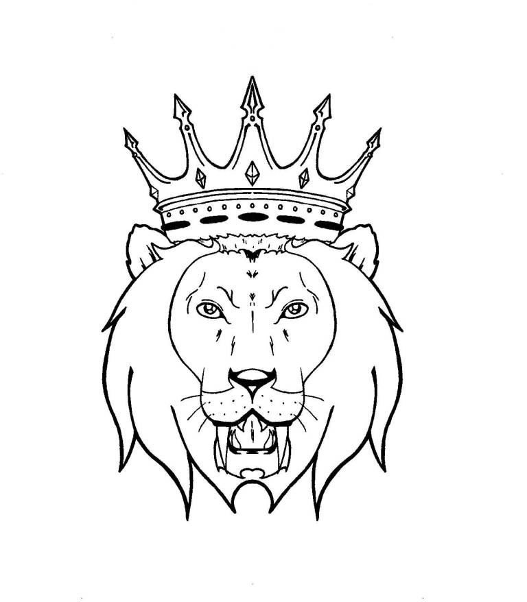 Lion With Crown Wallpaper Lion With Crown Tattoo Design: Lion Tattoo Ideas And Lion Tattoo Designs
