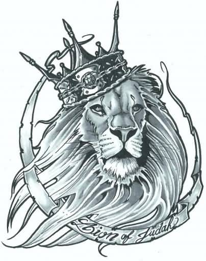 Lovely Lion King Tattoo With Awesome Wording