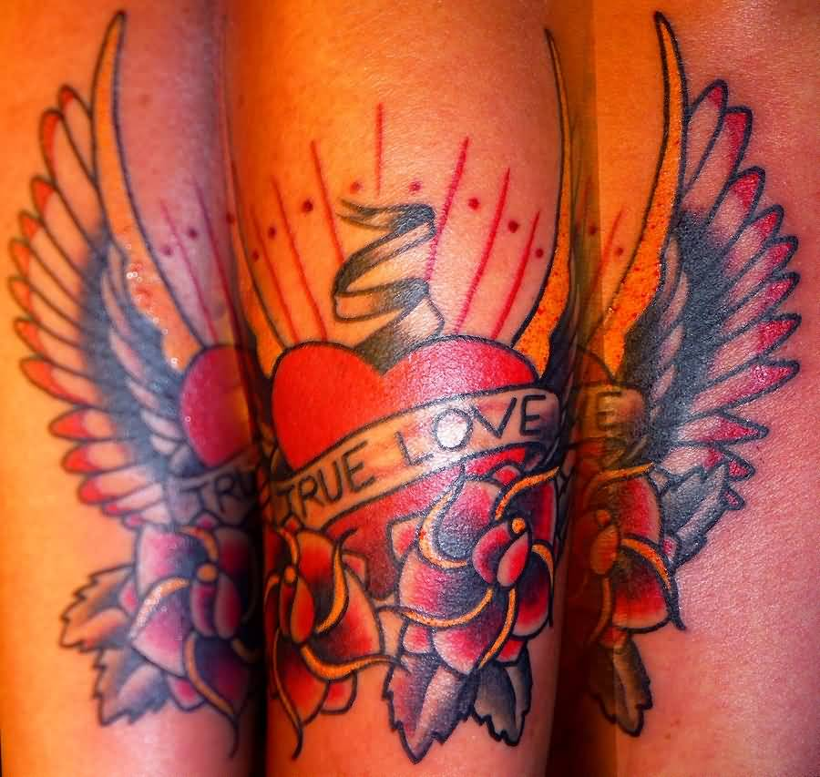 Amazing Tattoos Heart Beat With Dates: Love Tattoo Ideas And Love Tattoo Designs