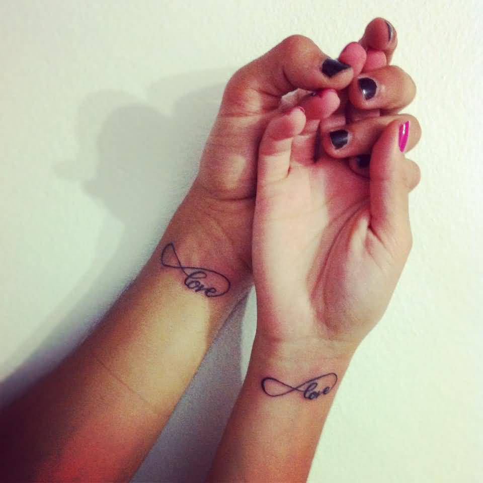 Infinity Love Tattoo For Couples Designs And Ideas Tattoos