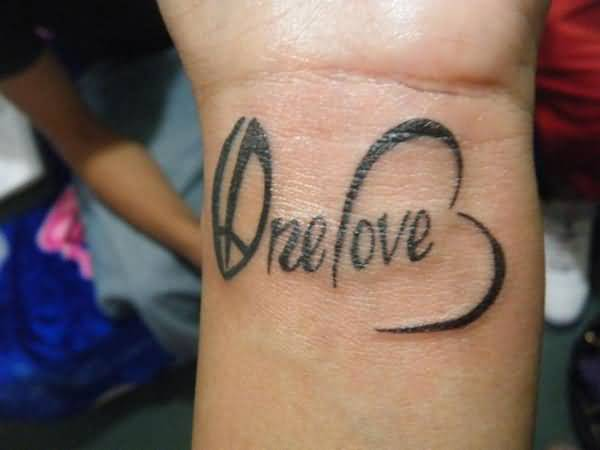 Peace And Love Symbol Tattoo Gallery Free Symbol Design Online