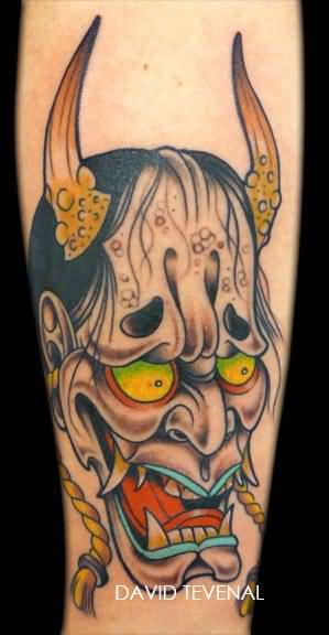 Mask tattoo ideas and mask tattoo designs page 71 for Hannya mask tattoo