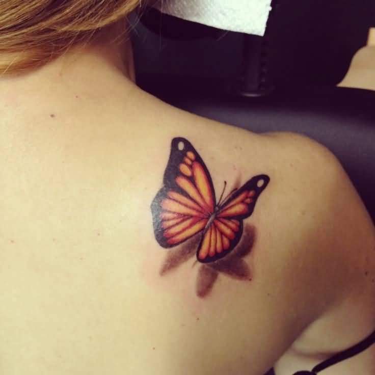 3d Butterfly Tattoos Images Pictures Page 5 Tattoos Hunter