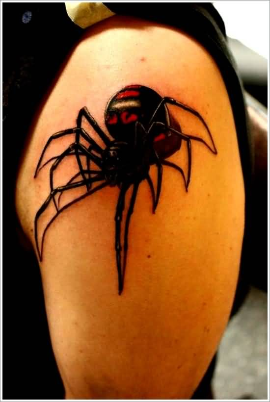 3d spider tattoo ideas and 3d spider tattoo designs page 4. Black Bedroom Furniture Sets. Home Design Ideas